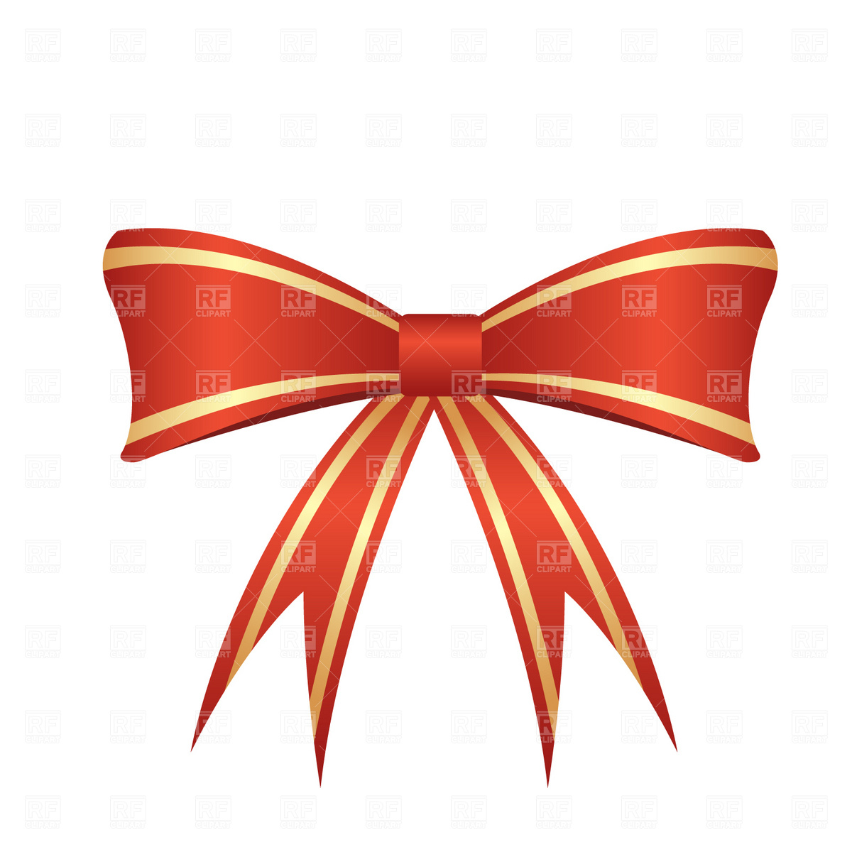 1200x1200 Red Bow Royalty Free Vector Clip Art Image