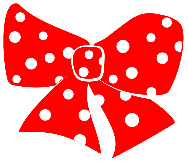 600x524 Red Minnie Mouse Bow Clip Art Free Clipart Images