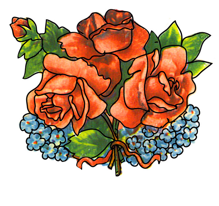 709x668 Pink Rose Clipart Red Rose
