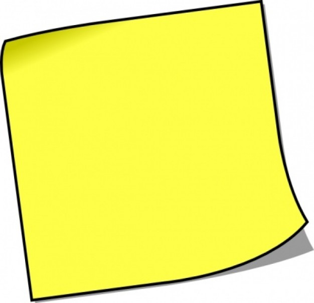 626x603 Free Reminder Notes Clipart