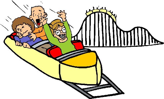 672x406 Roller Coaster Clip Art Art Rollercoaster
