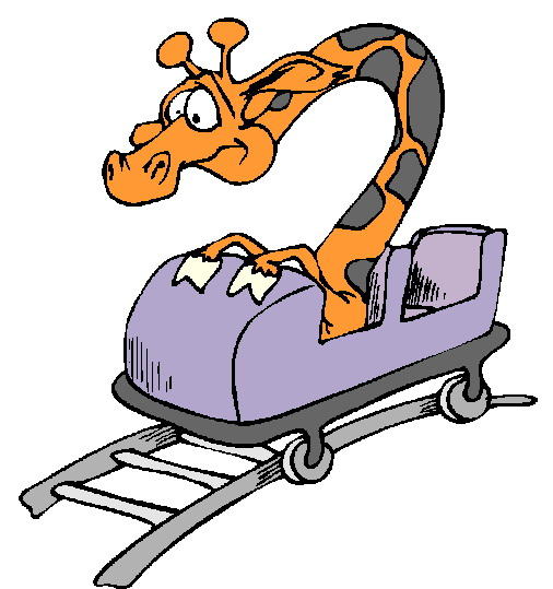 506x539 Roller Coaster Rolleraster Cart Clipart Clipartfest