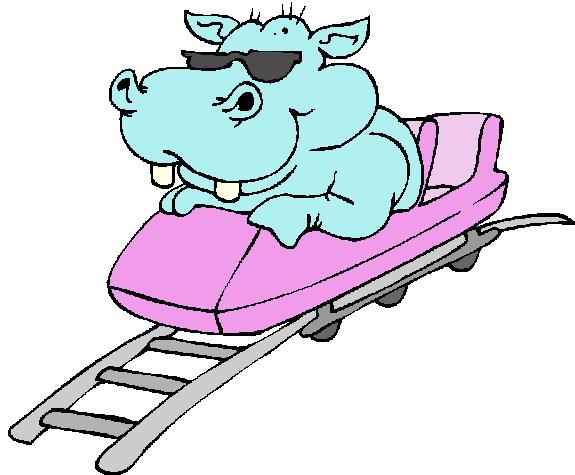 575x475 Roller Coaster Rolleraster Clip Art Rollercoaster Clipartix 2