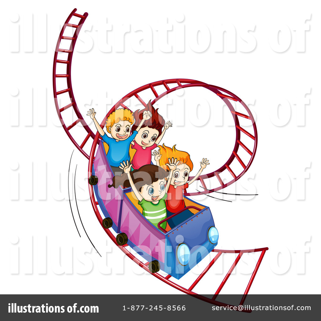 1024x1024 Roller Coaster Clipart