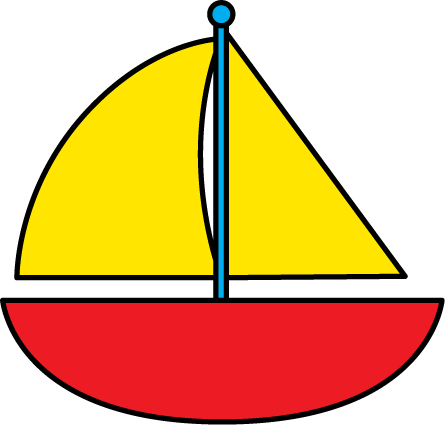 445x425 Sailboat Clipart Free