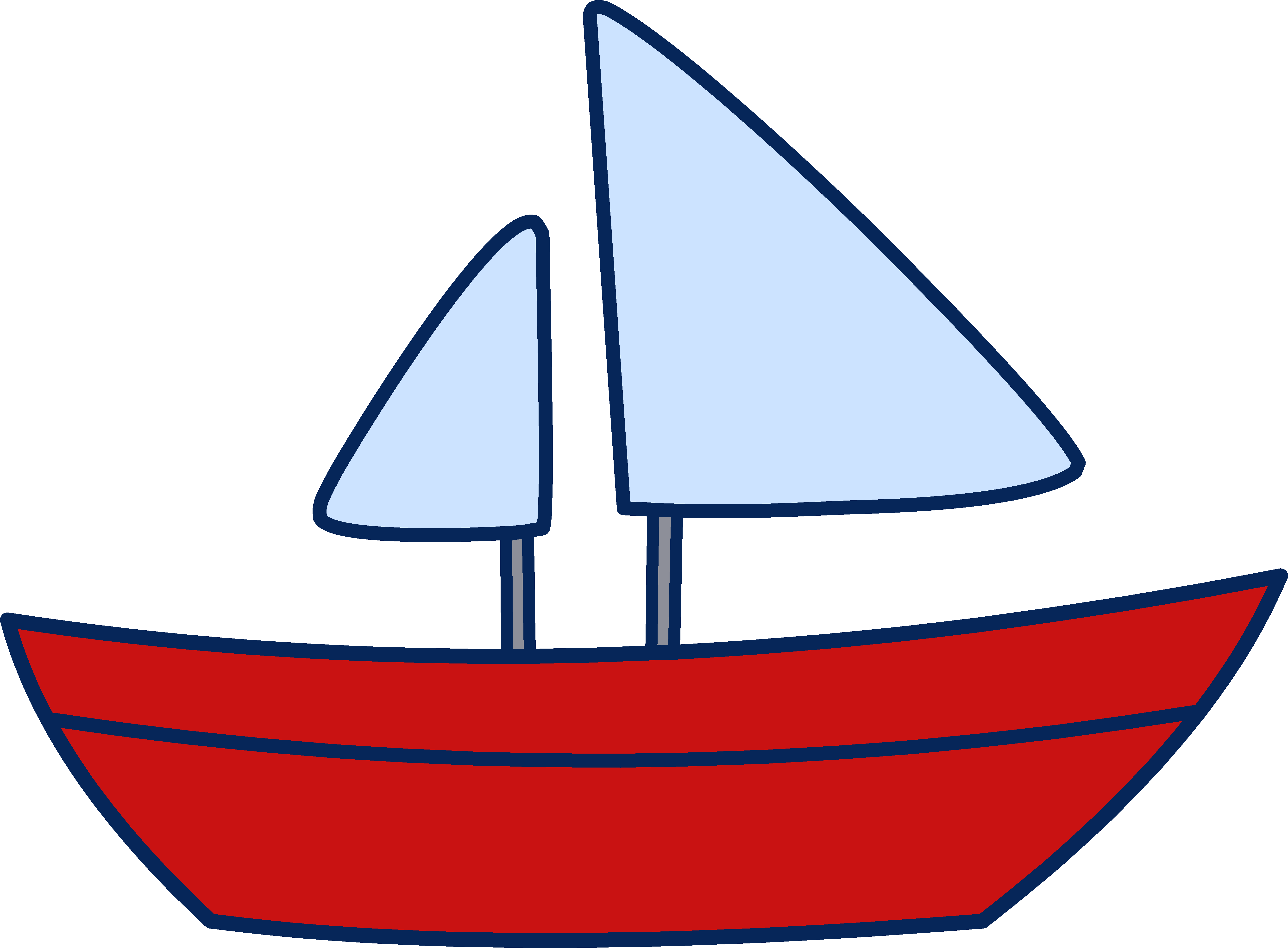 5357x3945 Toy Clipart Sail Boat
