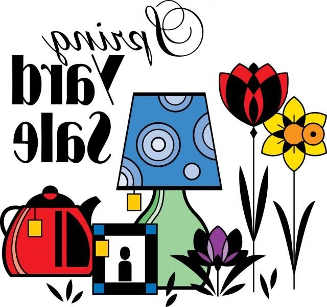 640x600 Superb Garage Sale Clip Art Set