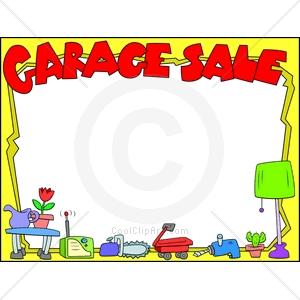 300x300 Garage Sale Clip Art Free