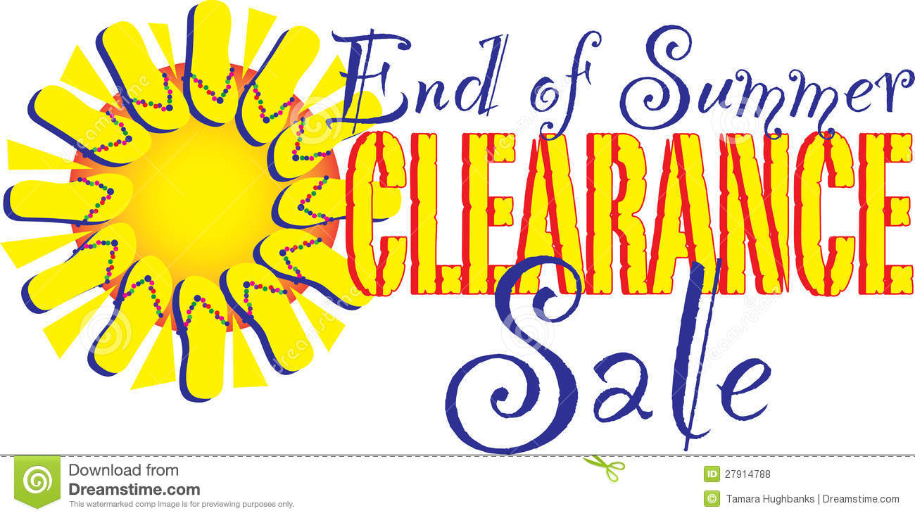 1300x736 End Of Summer Sale Clip Art Clipart