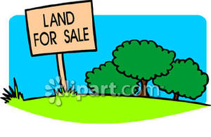 300x195 Land For Sale Sign In A Field