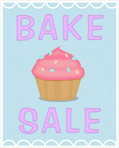 400x497 Vanilla Cupcake Clipart Sale Sign