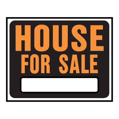 500x500 House For Sale Sign Clipart