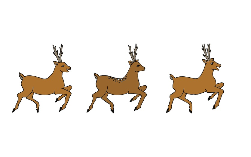 835x522 Reindeer Clipart Reindeer Flying