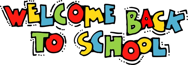 600x208 Welcome Back To School Free Clipart