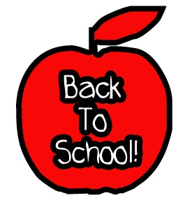 Apple back to school. Free clipart download best