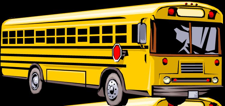 747x351 Free clip art school bus clipart images 10