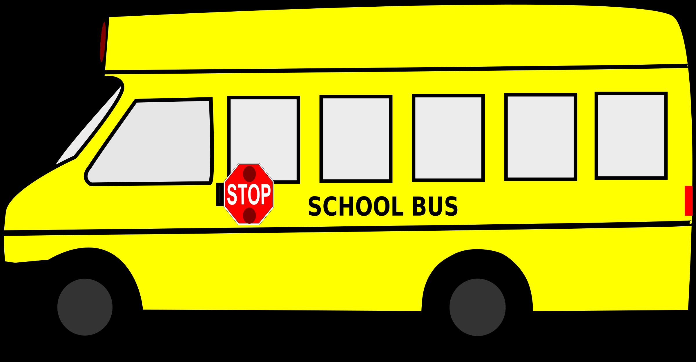 2400x1249 Free clip art school bus clipart images 9