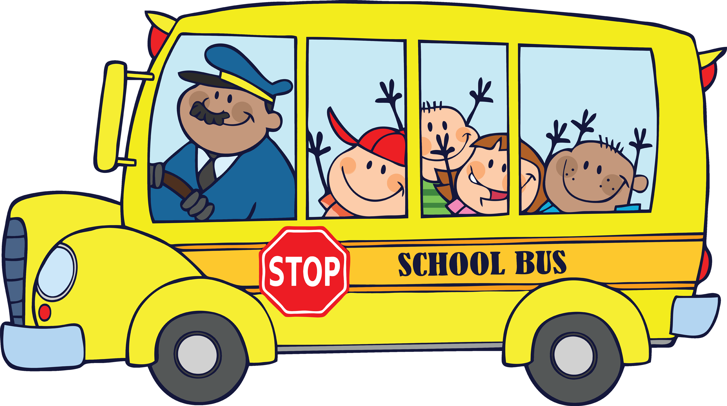 2400x1341 School Bus Clip Art For Kids Free Clipart Images 3