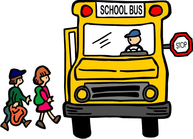 750x538 School bus stop clip art free clipart images 2