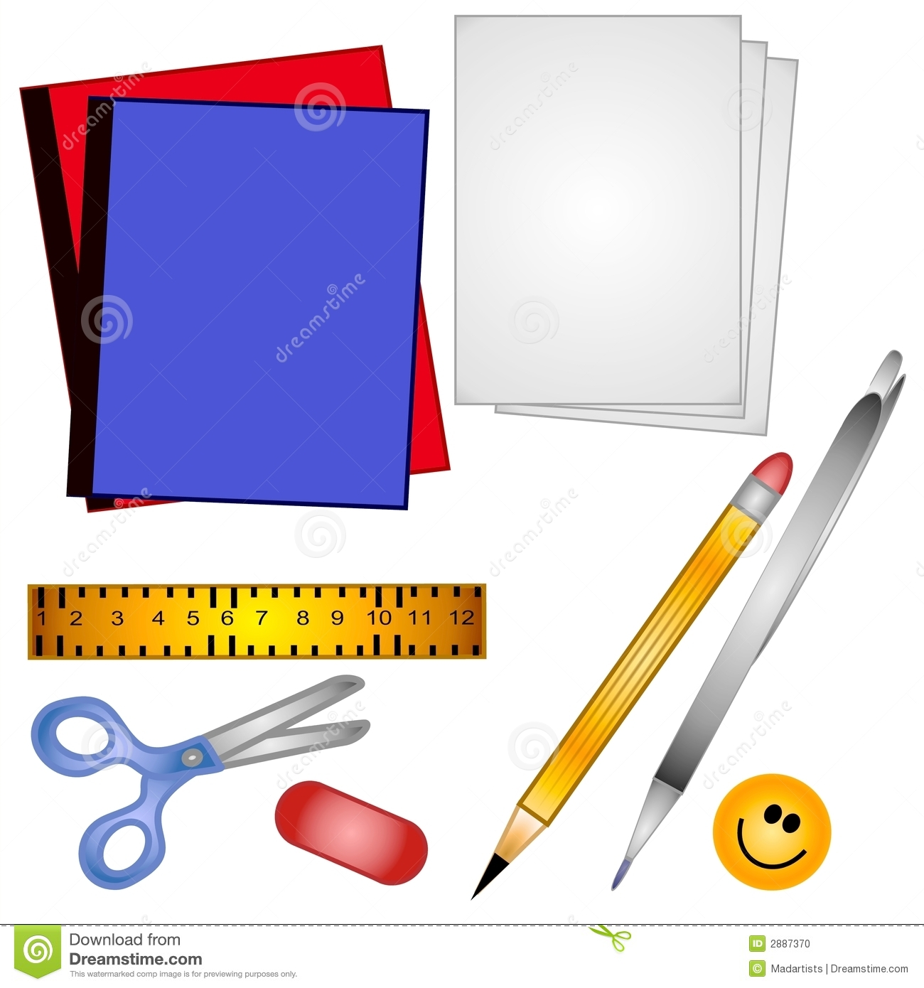 1300x1390 School Scissors Clipart Clipart Panda