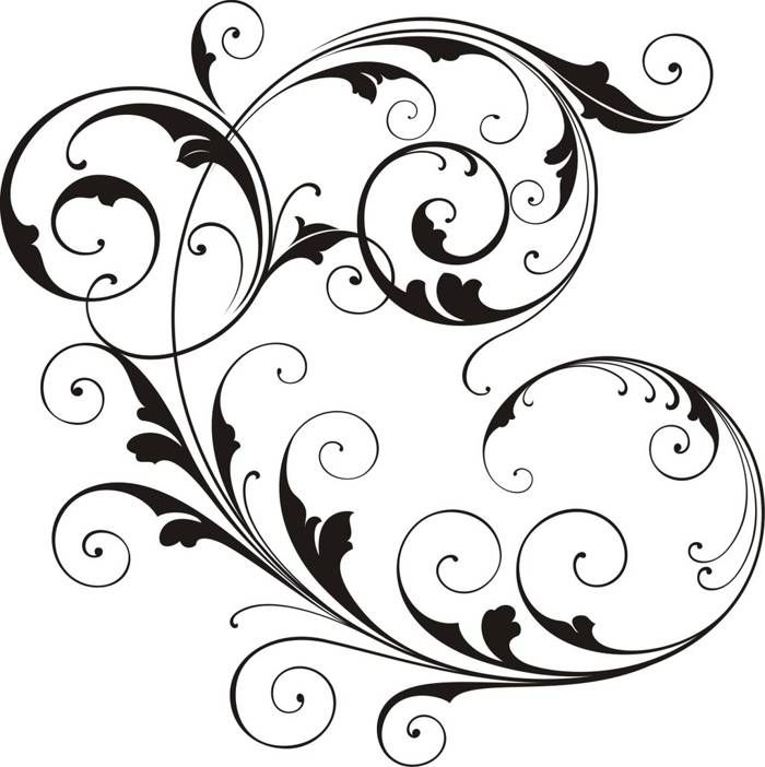 Free Clipart Scroll Designs