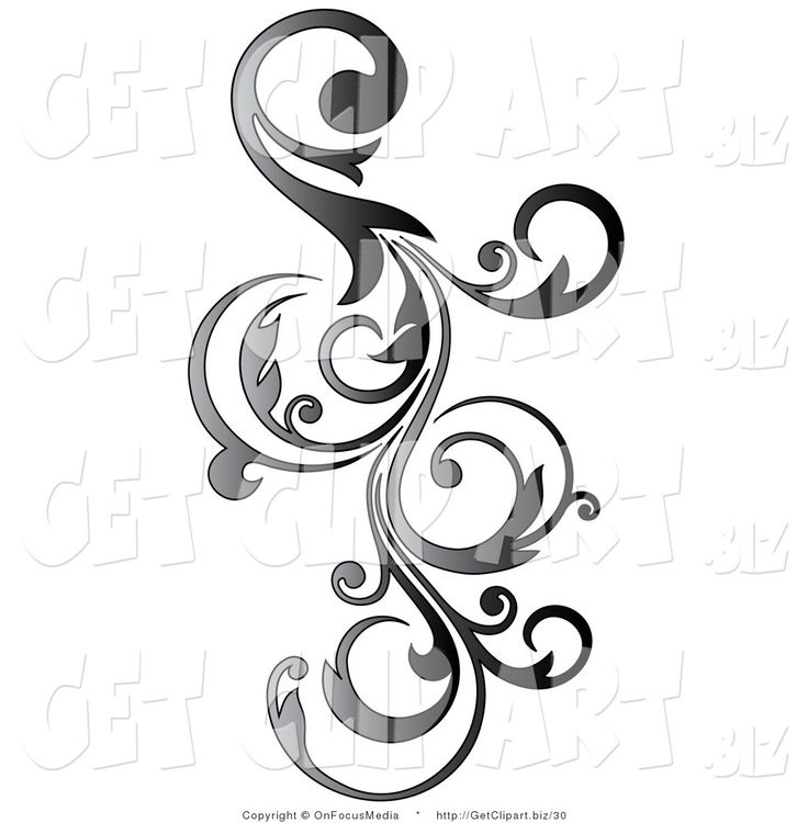 Free Clipart Scrolls And Flourishes