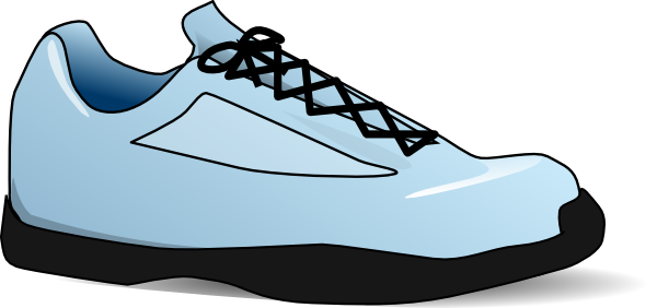 600x282 Tennis Shoe Clip Art Free Vector 4vector