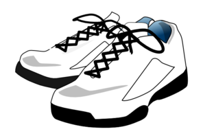 296x198 Clipart Tennis Shoes