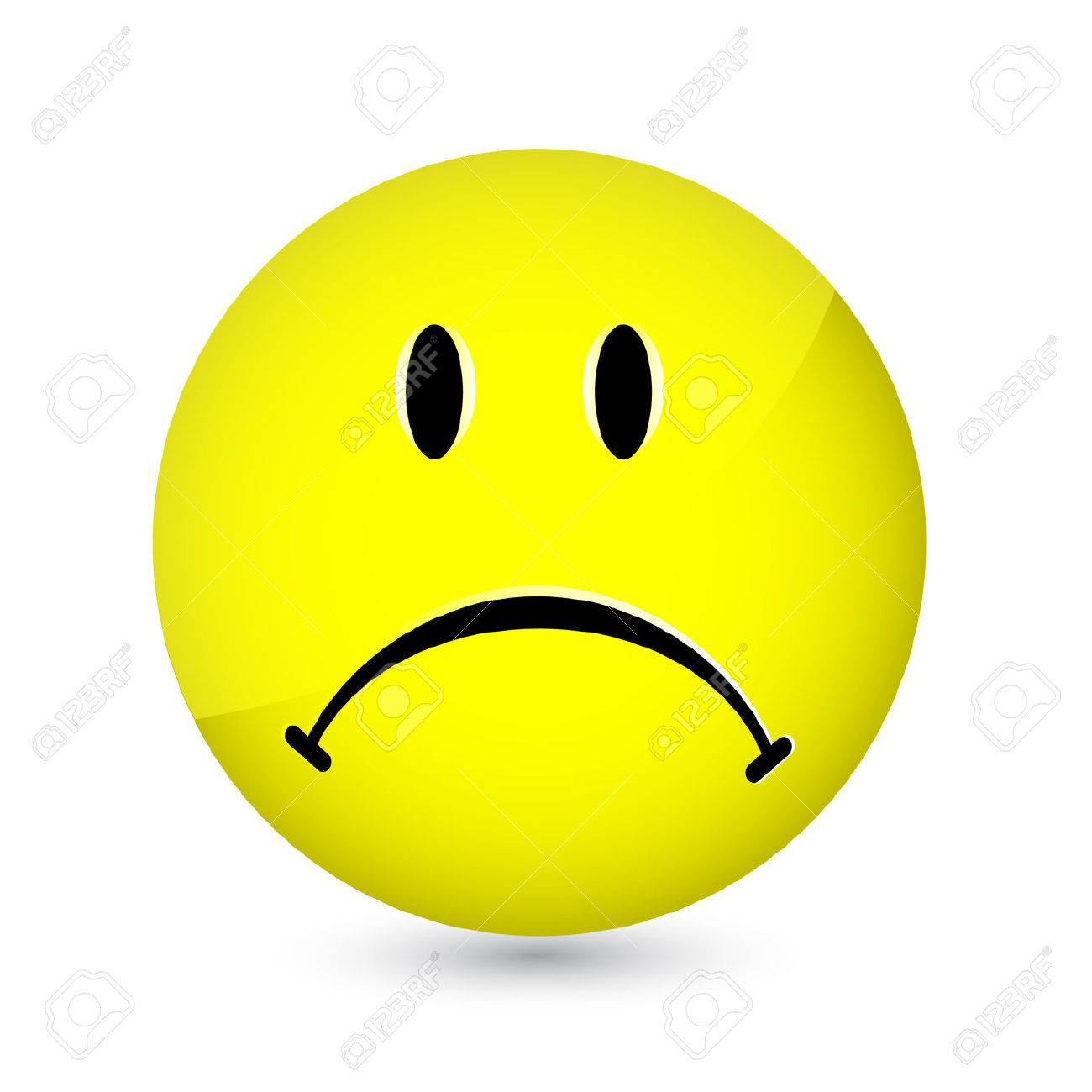1300x1300 Happy And Sad Face Clip Art