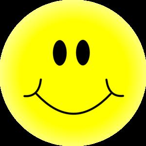 300x300 Yellow Smiley Face Clip Art