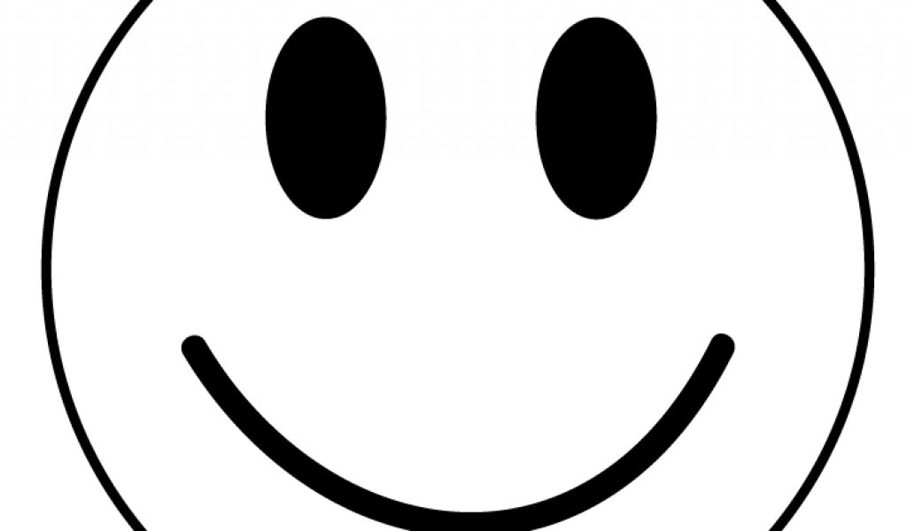 1024x600 Free Clipart Smiley Face