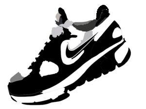 300x225 Nike Run Clip Art