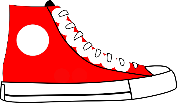 600x351 Free High Cut Sneaker Clipart