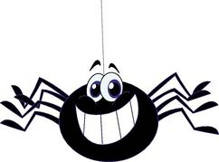 242x179 Free Spider Clip Art Pictures 3