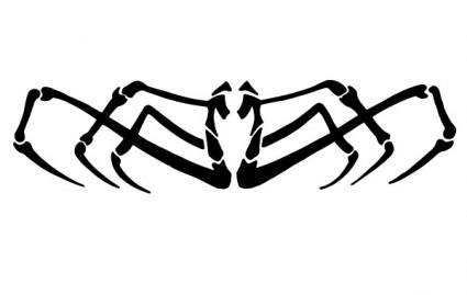 425x269 Spider Vector Clip Art Vector Misc Free Vector Free Download