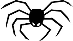 233x132 Free Spider Clipart