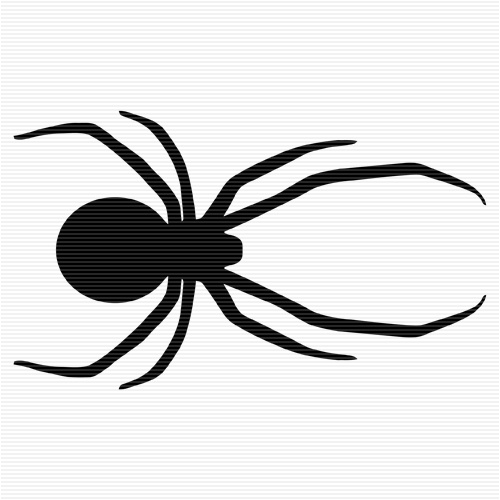 500x500 Shadow Clipart Spider