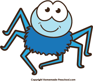 306x268 Spider Clipart Colorful