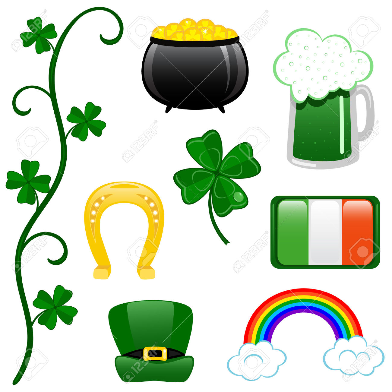 1300x1300 St. Patrick's Day Clipart St Patricks Day Background Clipart
