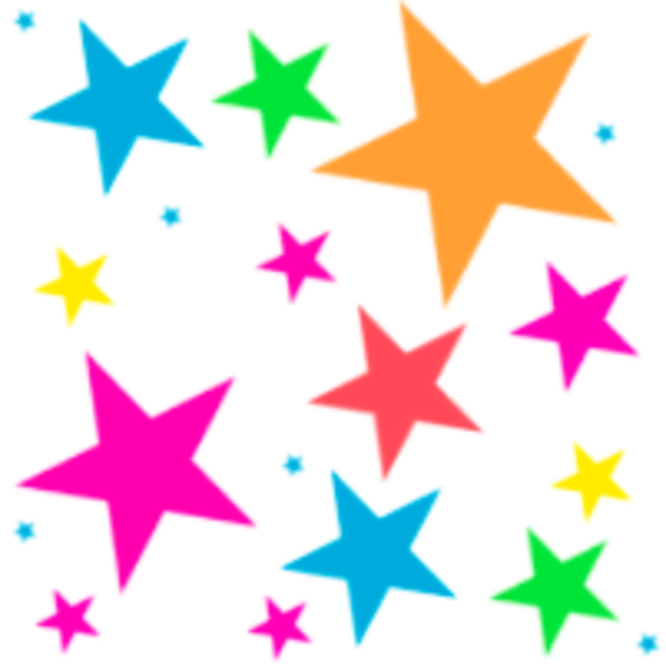 600x600 Stars Shooting Star Clip Art Outline Free Clipart Images