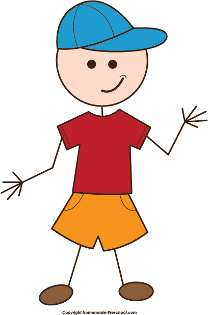 408x618 Stick People Clipart Clipart Panda