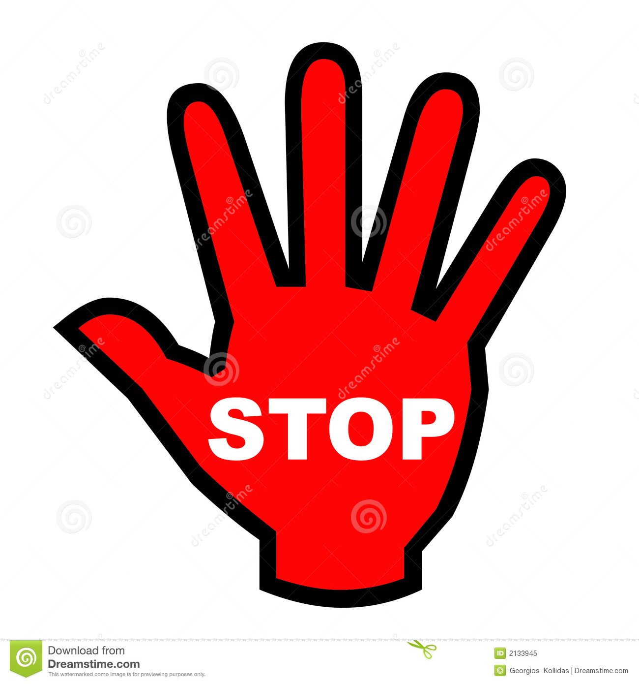 1300x1390 Hand Stop Sign Clipart