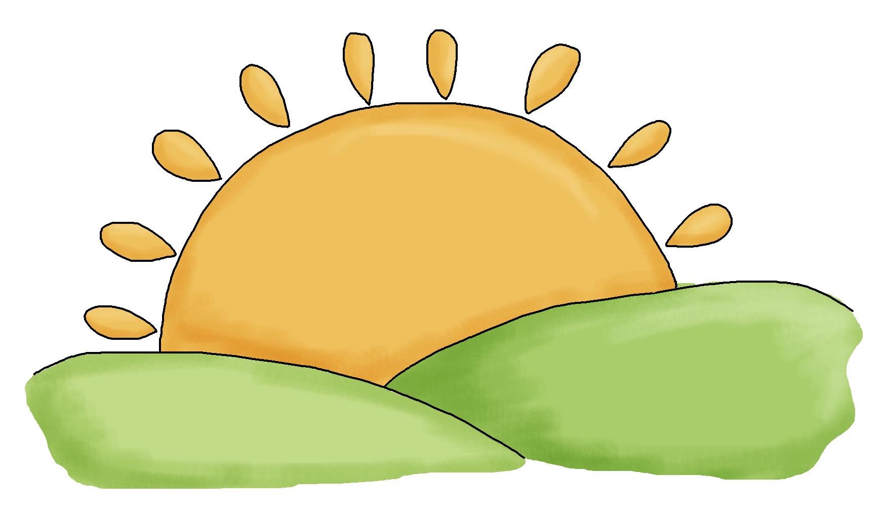 1746x1011 Free Sunrise Clipart Image