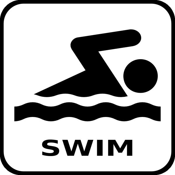 600x600 Swim Icon Clip Art