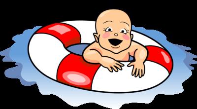 400x221 Image Swimming Baby Baby Clip Art