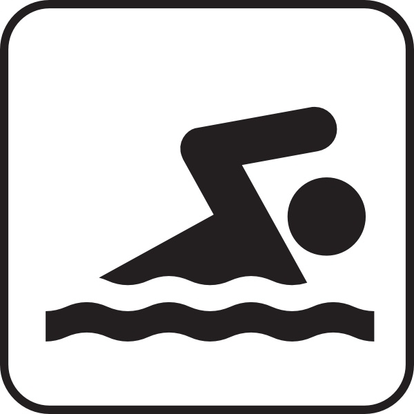 600x600 Swimming Clip Art Free Vector In Open Office Drawing Svg ( Svg