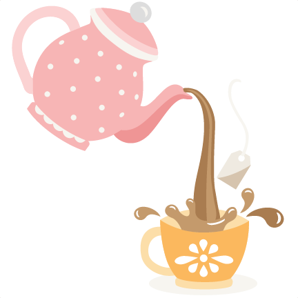 432x432 Pouring Tea Pot Svg Cutting Files For Scrapbooking Cute Files Cute