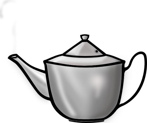 600x505 Printerkiller Metal Tea Pot Clip Art Free Vector In Open Office