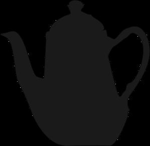 299x291 English Porcelain Teapot Clip Art