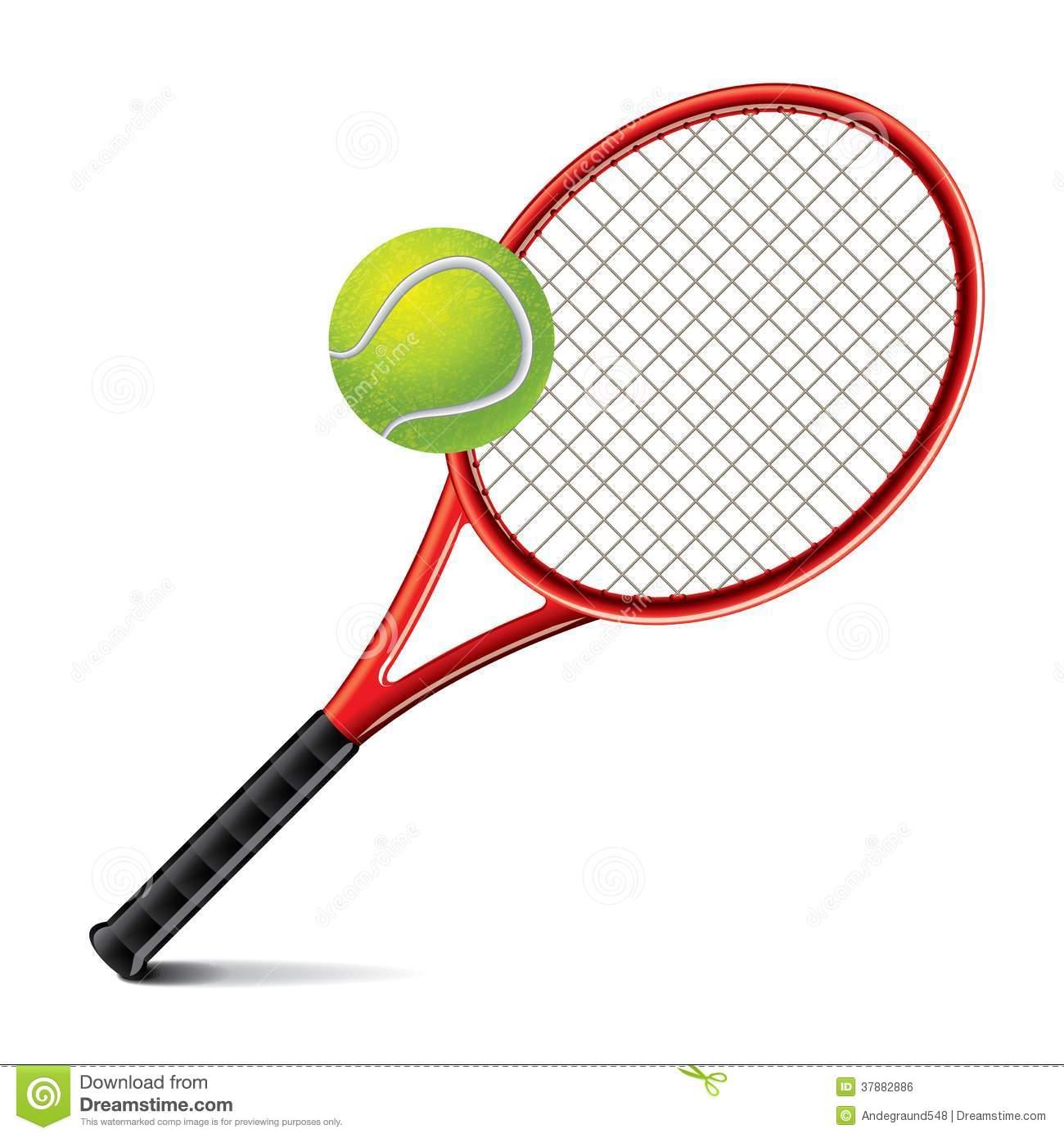 1300x1390 Tennis Racket And Ball Clipart